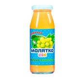 Сок Малятко яблоко-виноград 175 мл – ИМ «Обжора»