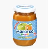 Пюре Малятко яблоко-абрикос 180 г – ИМ «Обжора»