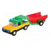 Машинка Сафари с прицепом 39006 – ІМ «Обжора»