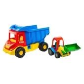 Машина грузовик с кеглями Multi truck 39219 – ИМ «Обжора»