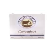 """Cыр камамбер, """"Пасторелли"""" (Pastourelle), с пеплом, 50%, 180 г – ИМ «Обжора»"""