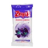 Салфетки влажные Зефир (Zeffir) Цветочное настроение 15 шт. – ИМ «Обжора»