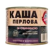 Конс, Алан 525г каша перлова зі свин ГОСТ ж/б – ІМ «Обжора»