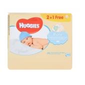 Салфетки Хаггиз (Huggies)  Pure2+1 (56x3) влажные – ИМ «Обжора»