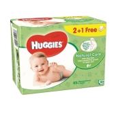 Салфетки Хаггиз (Huggies)  NCARE 2+1 (56x3) влажные – ИМ «Обжора»