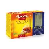 Набор Чайный Алокозай (Alokozay) Черный 100п + Чашка – ИМ «Обжора»