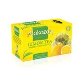 Чай Алокозай (Alokozay) зеленый с лимоном 25 п – ИМ «Обжора»
