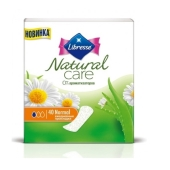 Прокладки Либресс ( Libresse) Natural Care Normal 40шт ежед. – ИМ «Обжора»
