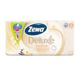 Туалетная бумага Зева (Zewa) Deluxe Шампань 8 рул. – ИМ «Обжора»