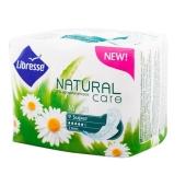 Прокладки Либресс ( Libresse) Natural Care Maxi Super 9шт – ИМ «Обжора»