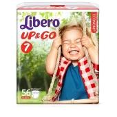 Трусики дет. Либеро (Libero) Up&Go 7 XL Plus(16-26 кг.) джамбо 24 шт. – ИМ «Обжора»