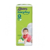 Подгузник Либеро (Libero) Everyday 4 Maxi (7-18кг) 42 шт – ИМ «Обжора»