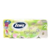 Туалетная бумага Зева (Zewa) Deluxe White ароматизирован. 8 шт. – ИМ «Обжора»