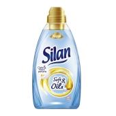 Конд. для белья Силан ( Silan)  Soft & Oils Голубой 1,5 л. – ИМ «Обжора»