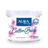 Ватные палочки AURA Beauty 200 шт – ИМ «Обжора»