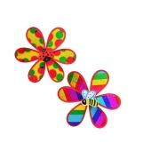 Ветряная мельница M 0791 квітка, 2 види, кул., 28 см ODC23825 – ИМ «Обжора»