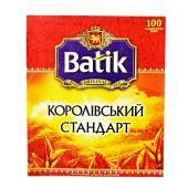 Чай Батик Королевский стандарт черный 100 п – ИМ «Обжора»