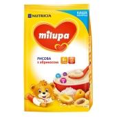 Каша Милупа (Milupa) молочная рисовая с абрикосом 210 г – ИМ «Обжора»