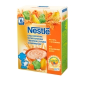 Каша Нестле (Nestle) мол. мультизлаковая с ябл, грушей и абрикосом 200 г – ИМ «Обжора»
