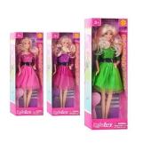 Кукла DEFA 8226 расческа, 3 цвета кор., 32,5-11-5,5 см ODC32914 – ИМ «Обжора»