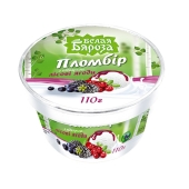 Мороженое Белая береза Пломбир  с подваркой Лесные ягоды, 110г – ИМ «Обжора»