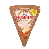 Сыр Бри Президент с орехами 125г – ИМ «Обжора»