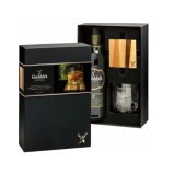Виски Гленфиддик (Glenfiddich) 12 лет 0,7л + бокал + подставка – ИМ «Обжора»