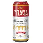 Пиво Прага светлое  0,5л – ИМ «Обжора»
