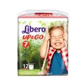 Трусики детские Либеро (Libero) Up&Go 7 XL Plus(16-26 кг.) 12 шт – ИМ «Обжора»