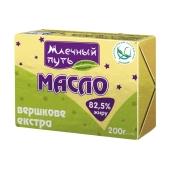 Масло Млечный путь Экстра 82,5% 200 г – ИМ «Обжора»