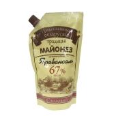 Майонез Беларусские традиции 370г столовый 67% д/п – ИМ «Обжора»