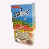 Сіль Хуторок 200г Морська  з травами і спеціями – ІМ «Обжора»