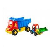 Машина грузовик с трактором  Multi truck 39219 – ИМ «Обжора»