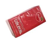Салфетки Рута  Premium Color красн.30шт – ИМ «Обжора»