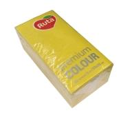 Салфетки Рута (Ruta)  Premium Color желт.30шт – ИМ «Обжора»