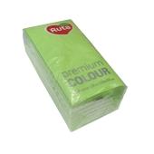 Салфетки Рута (Ruta) Premium Color зелен.30шт. – ИМ «Обжора»