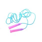 Скакалка MS 0826  пластик. ручки, 2 цвета, 195 см ODC53859. – ИМ «Обжора»