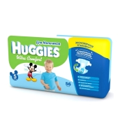 Подгузники Хаггиз (Huggies)  Ультра Комфорт Мега 5 д/мальч. – ИМ «Обжора»