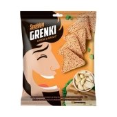 Сухарики гренки Снекин 35г  пшеничные Cыр чеснок – ИМ «Обжора»