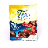 Пряники Tago 160г клубника в шоколаде – ИМ «Обжора»