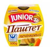 Паштет Онисс Джуниор печеночный 100г – ИМ «Обжора»