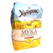 Мука Хуторок 5кг пшеничная в/с – ИМ «Обжора»