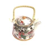 Чайник с ситечком фарфоровый 17*13 3030 – ИМ «Обжора»