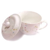 Чашка для бульена с  крышкой керамика 1366 – ИМ «Обжора»