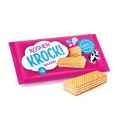 Вафли Рошен (Roshen) Krock молоко 40г – ИМ «Обжора»