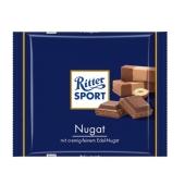Шоколад Риттер спорт (Ritter Sport) нуга 100 г – ИМ «Обжора»