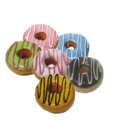 Пончик DONUTS заварн.крем шоколодный – ИМ «Обжора»