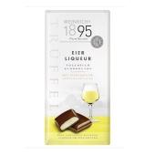 Шоколад Weinrichs 1895 молочный яичный ликер-трюфель 100 г – ИМ «Обжора»