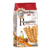 Грисини Mulino Bianco raggianti с оливковым маслом 230г – ИМ «Обжора»