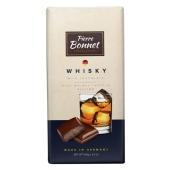 Шоколад Пьер Боне (Pierre Bonnet) молочный виски 100 г – ИМ «Обжора»
